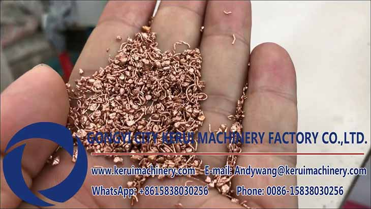Copper Wire Recycling Machine Test for Indian Customer II