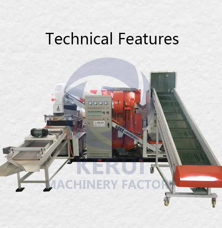 Technical Features Of Copper Wire Granulator