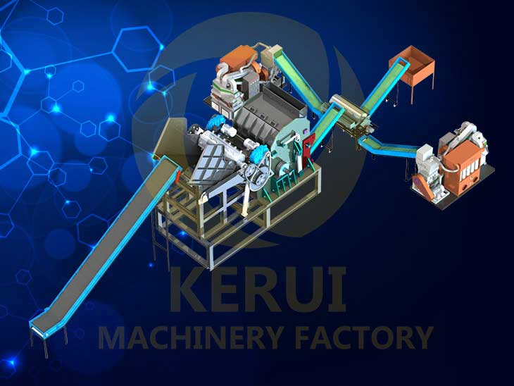 Electric Motor Recyling Machine