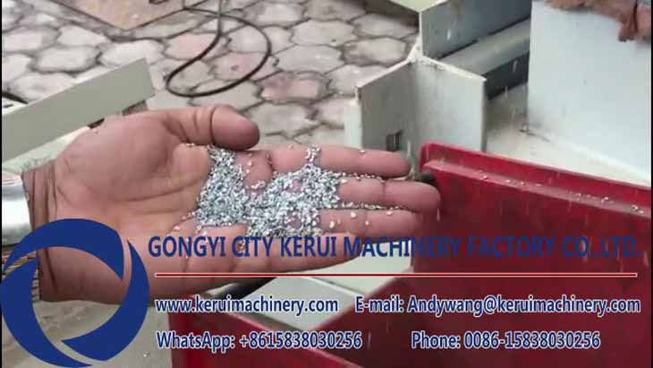 Single Core Aluminum Wire Recycling Project in India